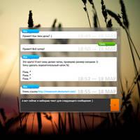 IM Message window concept