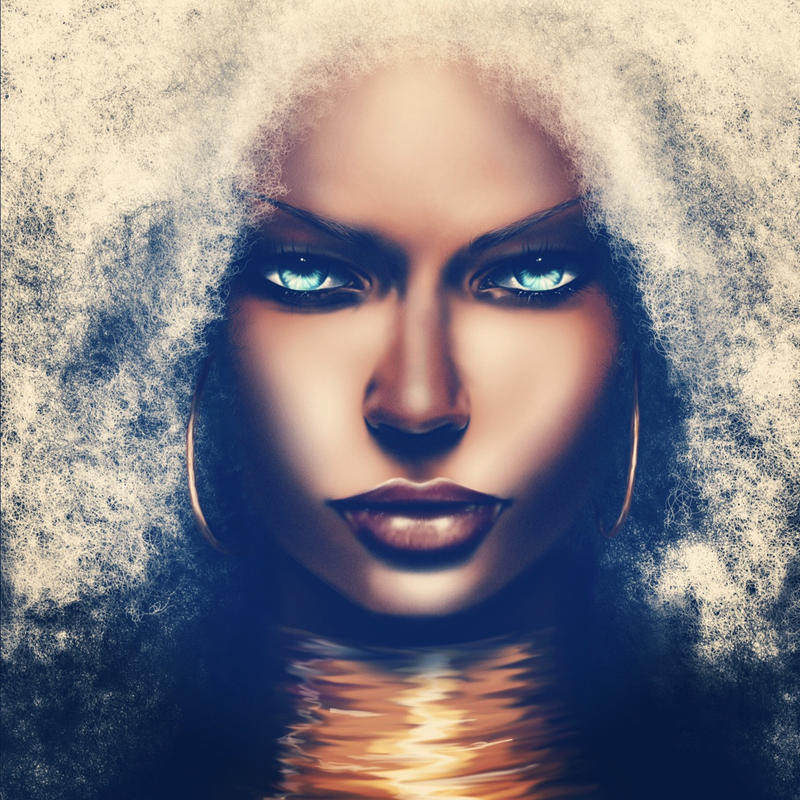 'A Storm is comin' ororo from xmen
