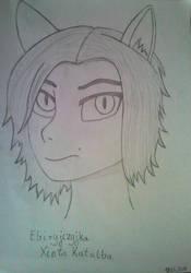 Xinta Katalba drawing by AronMR68
