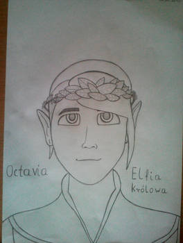 Elfia krolowa Octavia: Simowe opowiesci