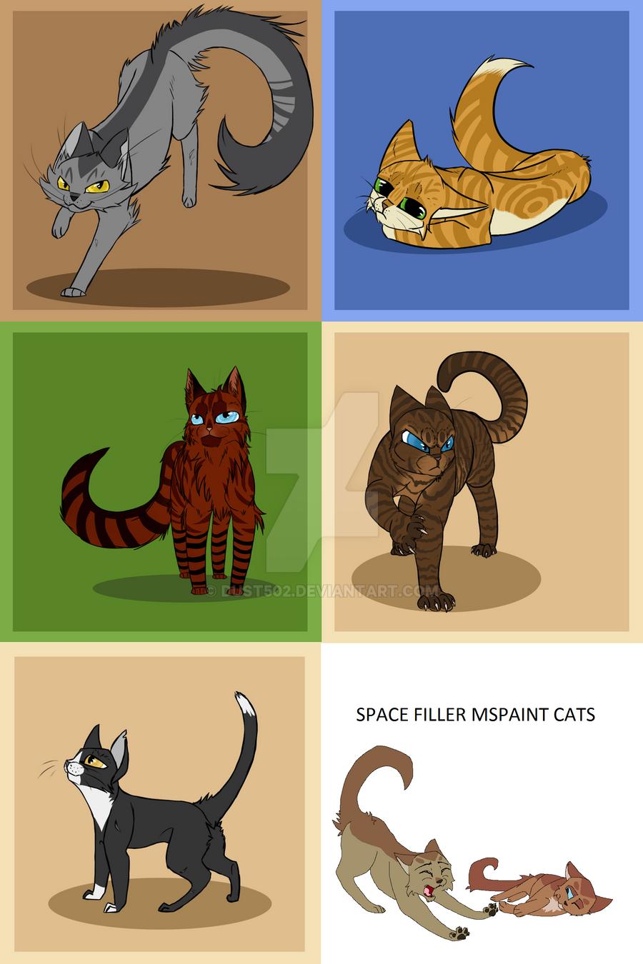 Warrior Cats OC Dump 2 by Dust502