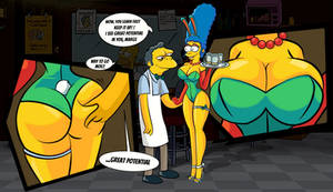 Marge's new job
