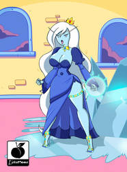 Adventure Time: Ice Queen by Linkartoon