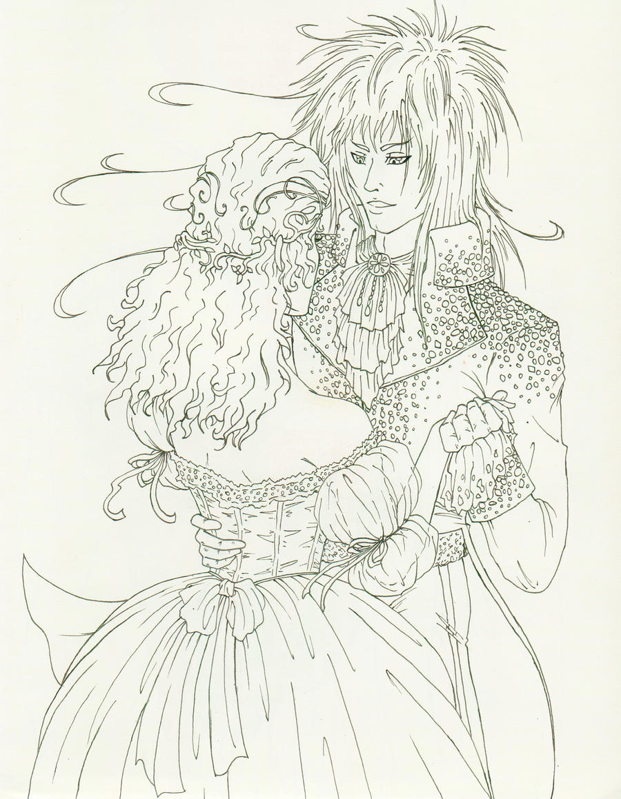 Dance a Dream With Me- Uncolored by mimisikokryptonite