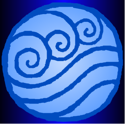 Water Tribe Symbol Background By Shibalove On DeviantArt