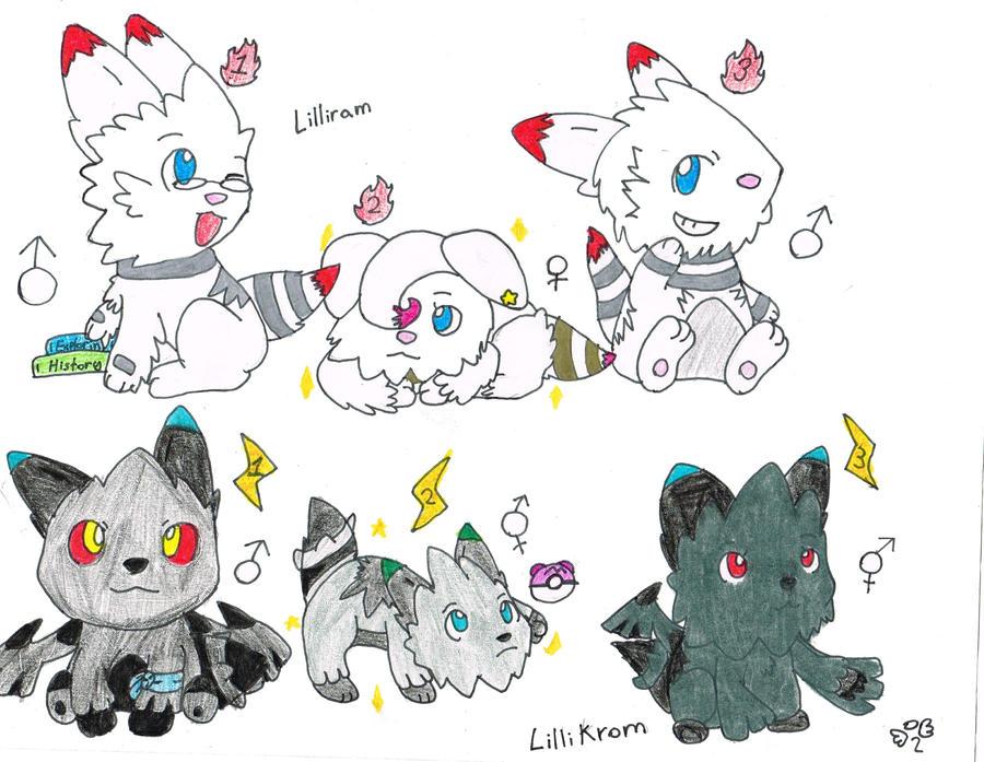 Lillipup evolution level