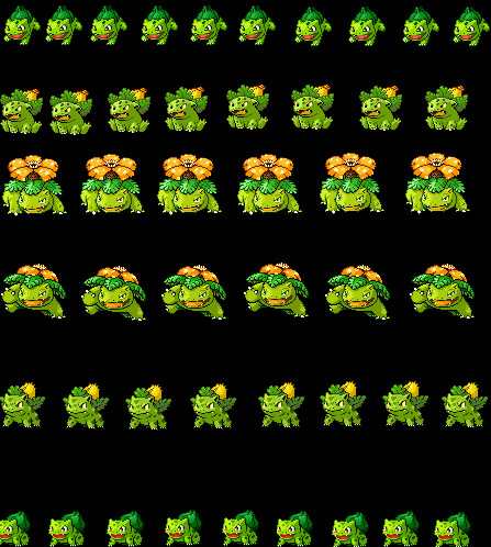 Shiny Bulbasaur Evolution Chain By Suicune245 On Deviantart 6 invisible shiny bulbasaurs exist. shiny bulbasaur evolution chain by