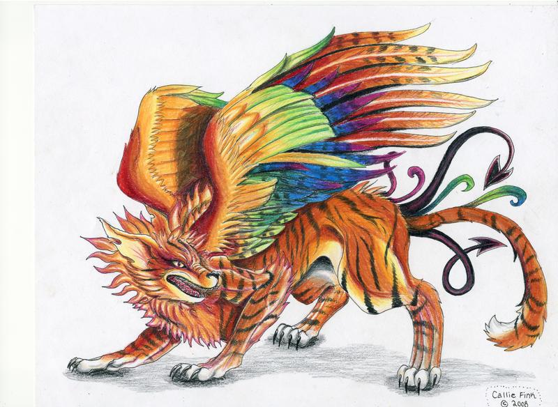 Eternal Fire Wolf by CallieFink