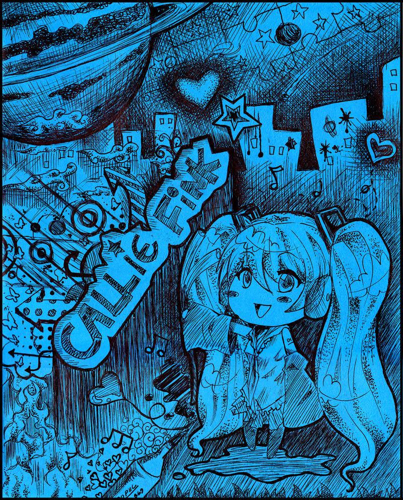 callie fink. logo by CallieFink
