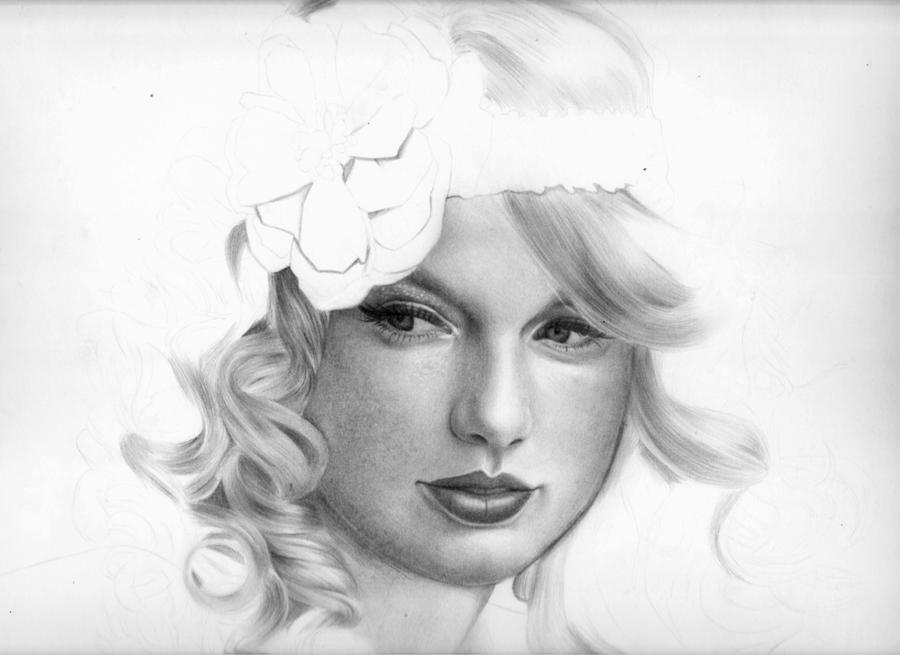 Taylor Swift WIP 2 by CallieFink