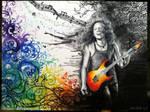 Kirk Hammett by CallieFink