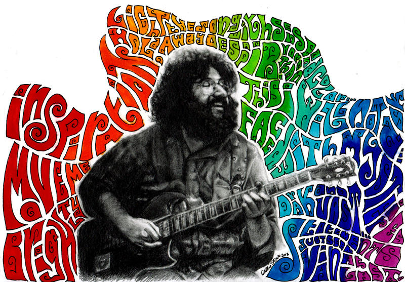 Jerry Garcia by CallieFink