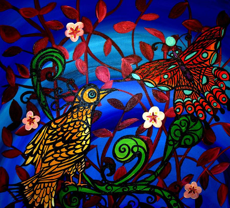 Cherry Bloosom Friends by HeatherPeterman