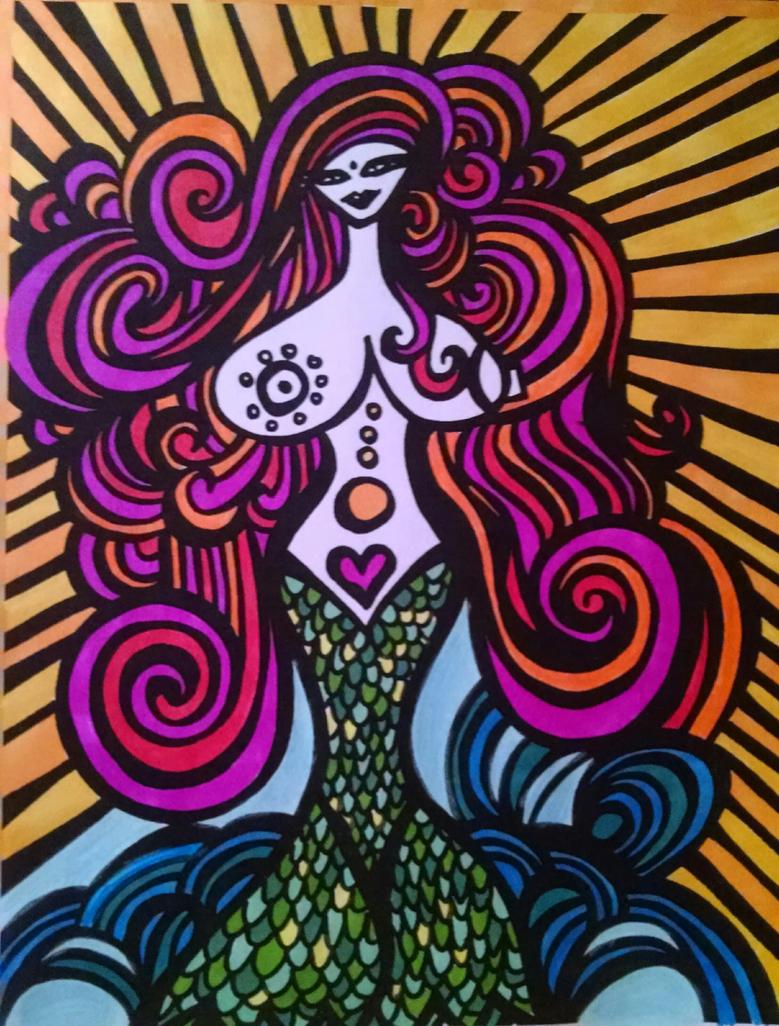 Miss Sunshine Mermaid by HeatherPeterman