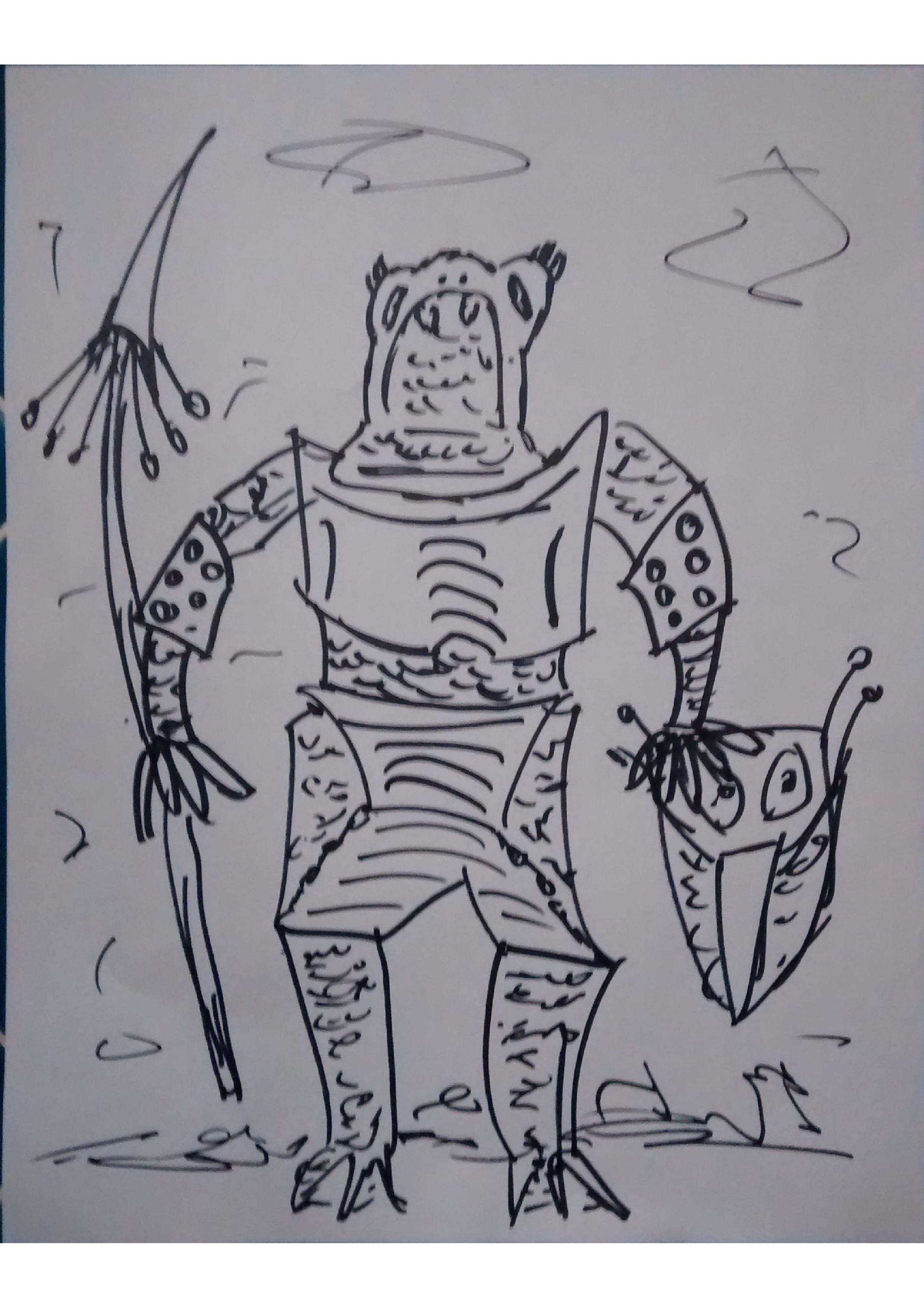 Frogger by KosmikWarrior