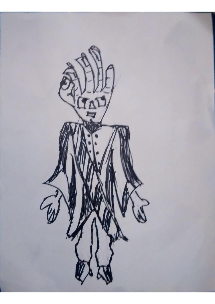 Hand man(d) by KosmikWarrior