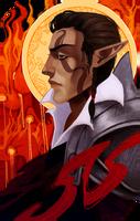 Commission Kir tarot by RedlyJester