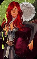 Commission: Samarra tarot by RedlyJester