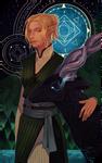Commission: Kaunis Dhea tarot