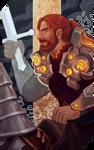 Commission:  Arnulf tarot card