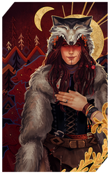 Commission: Kira Storm tarot by RedlyJester