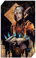 Commission: Casianna tarot by RedlyJester