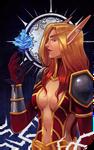Commission: Faerin Darkheart tarot