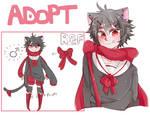 [ADOPT] Dark Neko Boy [CLOSED]