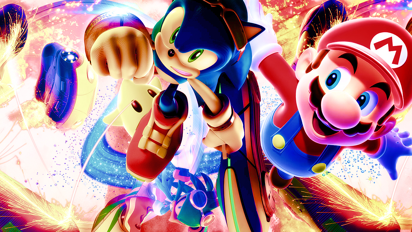 Sonic And Mario Race