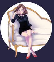 Sting Lady by sillyapple