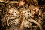 Decommissioned submarine torpedo hatch. by pe0s
