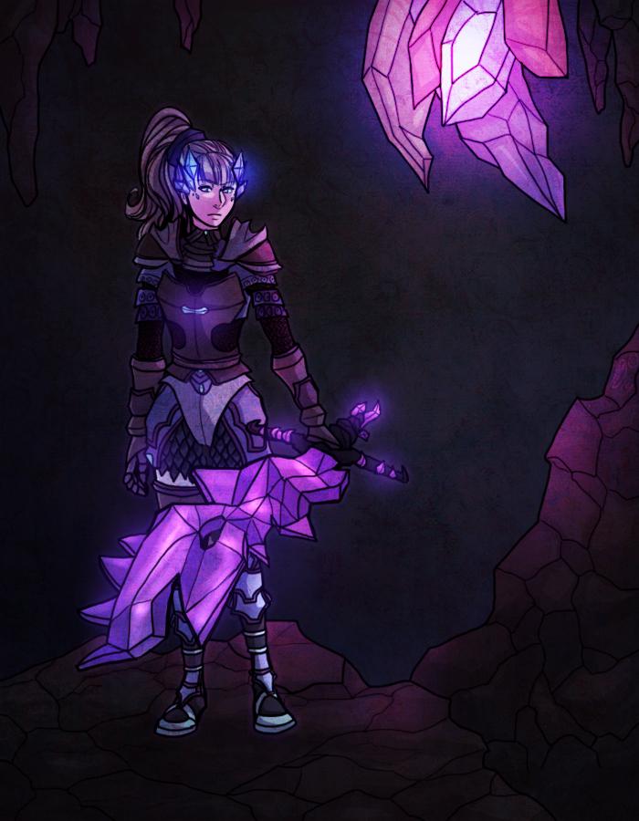 Underground Warrior by Silverlykta