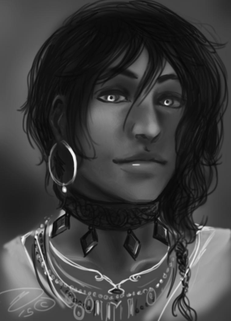 Ridges Portrait by Silverlykta