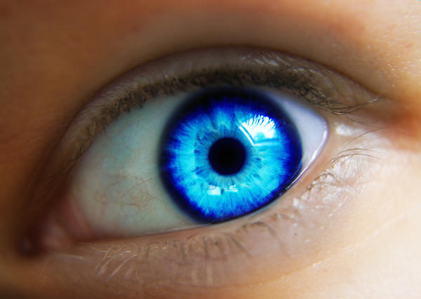Natural Blue Eye Contacts