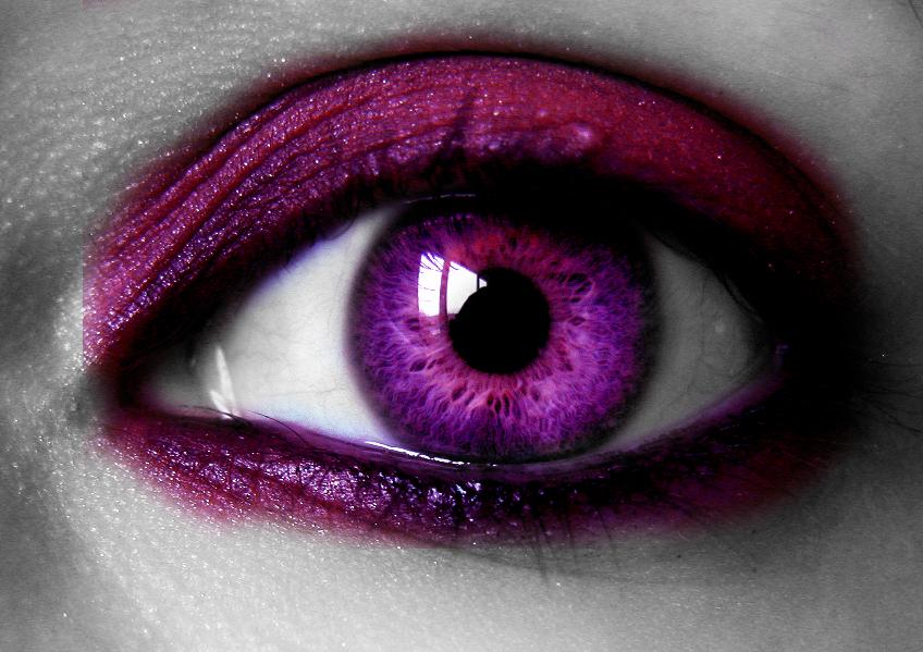 stunning eyes pink blue-#47