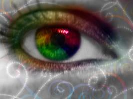 My rainbow eye by LT-Arts