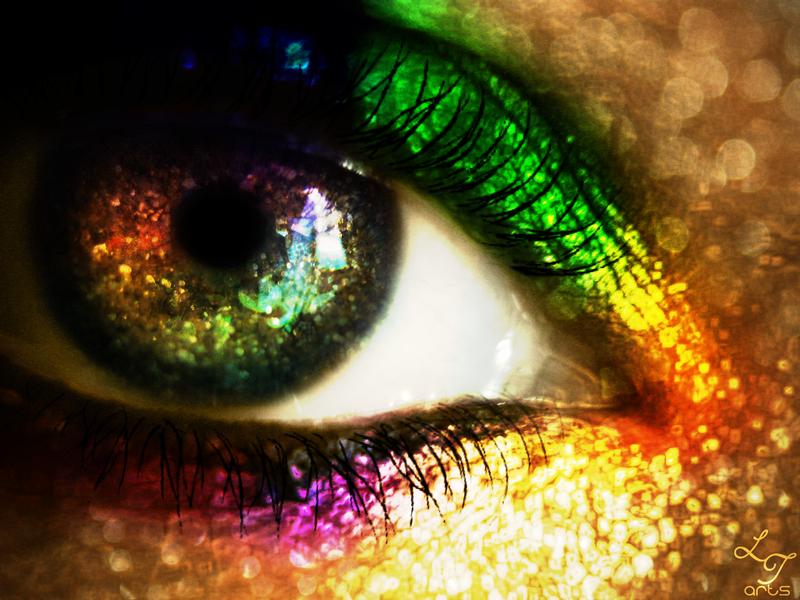 Rainbow Glitter by LT-Arts