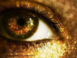 Gold Glitter by LT-Arts