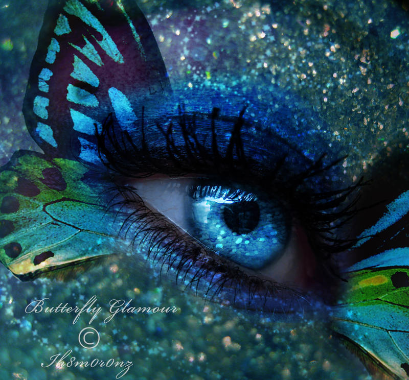 eye butterfly photo manipulation