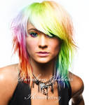 Rainbow Goddess by LT-Arts