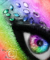 Rainbow Glamour Eye