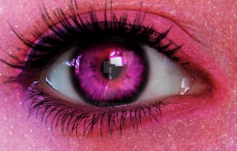 Pink Glitter by LT-Arts
