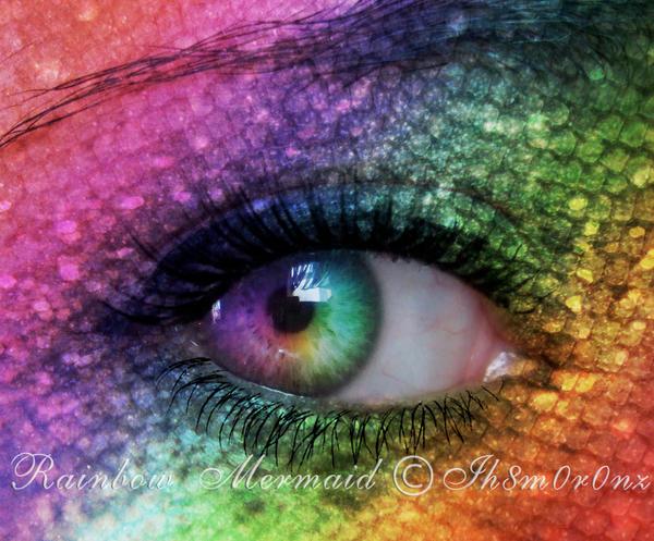 Rainbow Mermaid by LT-Arts
