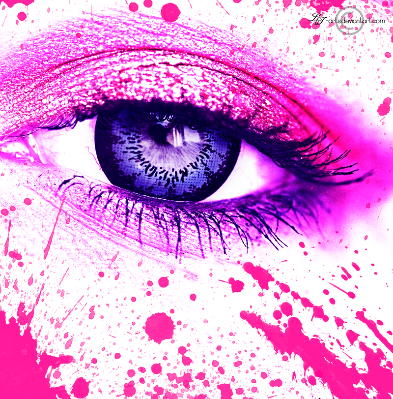.: Fuchsia Splash:. by LT-Arts