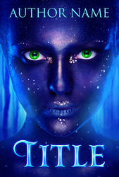 Premade Book cover - Magical Forest Creature