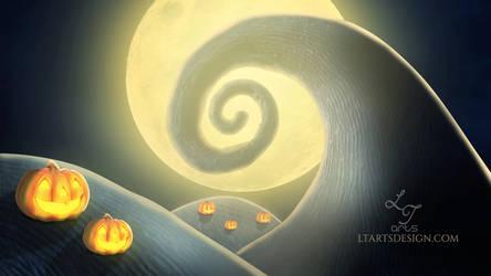 Spiral Hill -Wallpaper