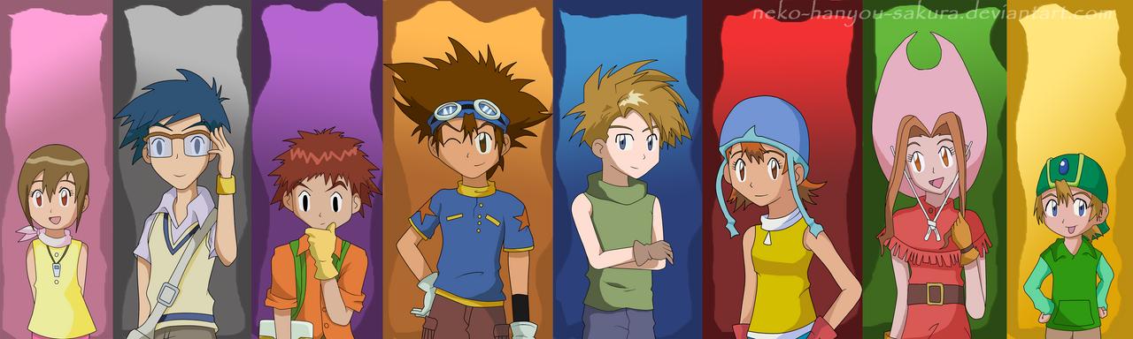 Digimon 12th Anniversary by Neko-Hanyou-Sakura