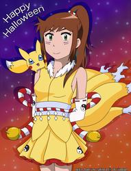Halloween 2018 by Neko-Hanyou-Sakura