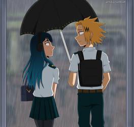 CM: Rain and Sunshine [BNHA OC] by IndigoSunbeam