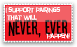 Never Happen stamp by invader-zim-14